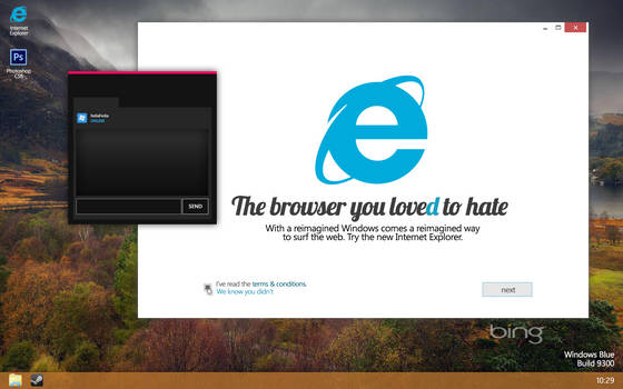 Windows Blue Concept / Mockup 2013