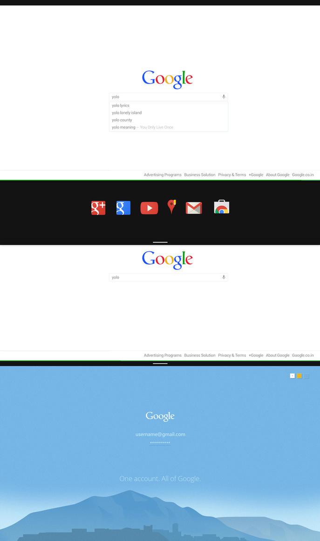 Google Redesigned: Modern / Metro UI Concept by MrTechnoholic