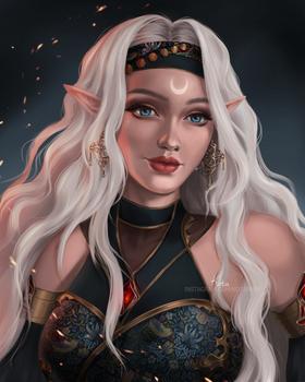Moona's Portrait