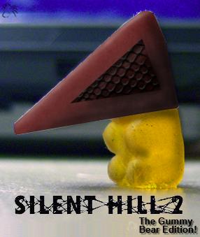 Pyramid Head - Gummy Bear by KaiKudo