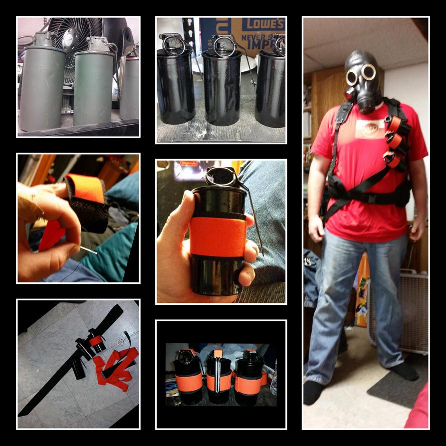 Pyro Grenades and bandolier upgrade by MyLittleNinja