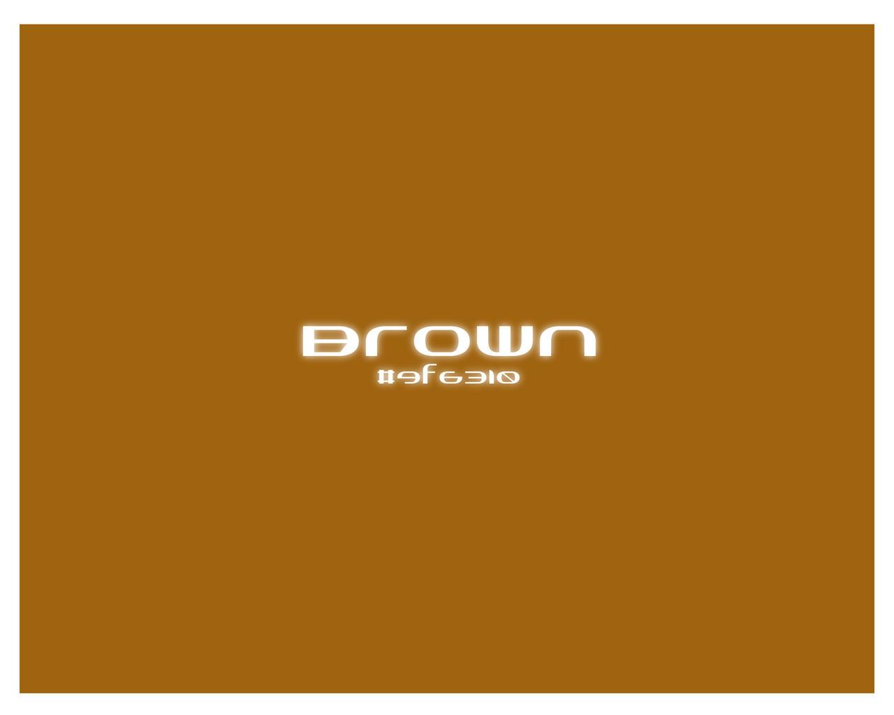 make brown color