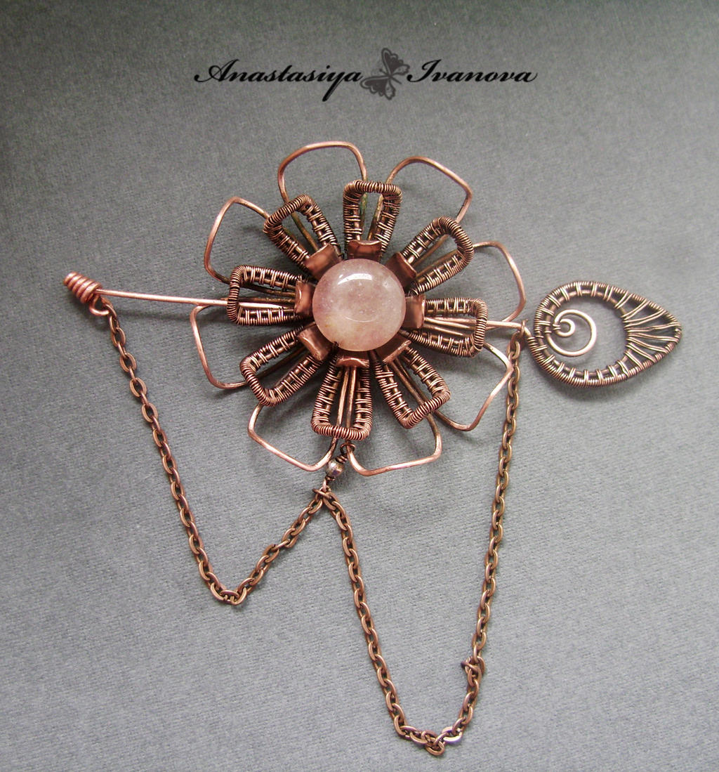 brooch flower by nastya-iv83