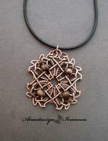 pendant with jasper by nastya-iv83