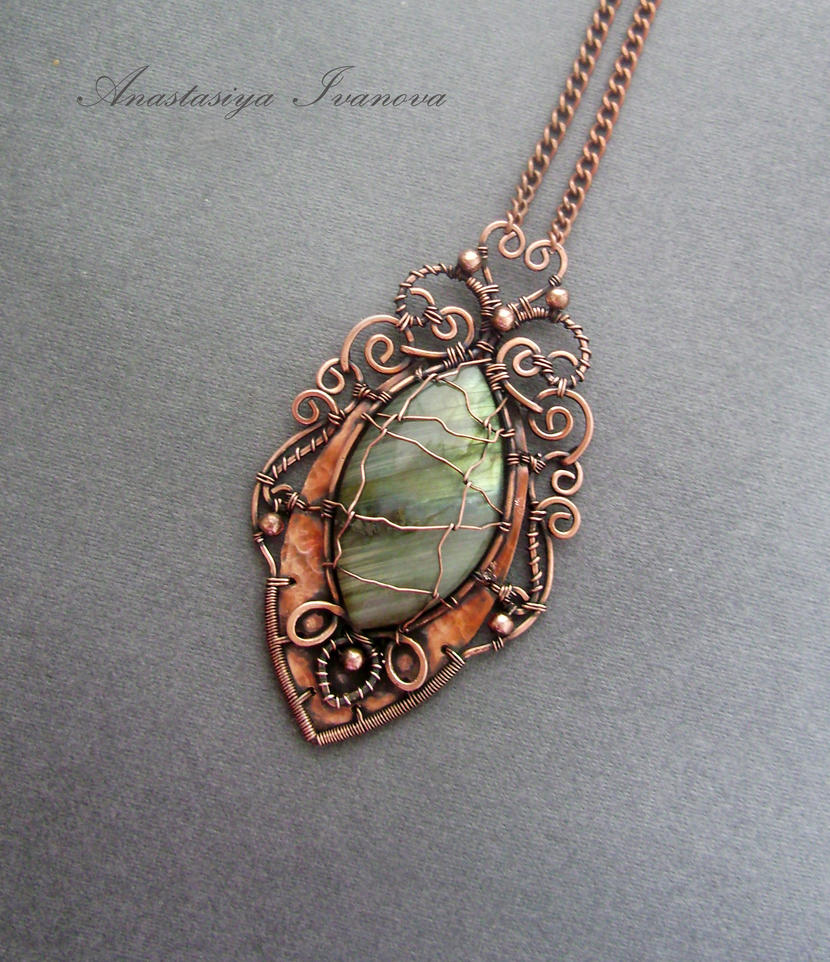 pendant with labradorite by nastya-iv83