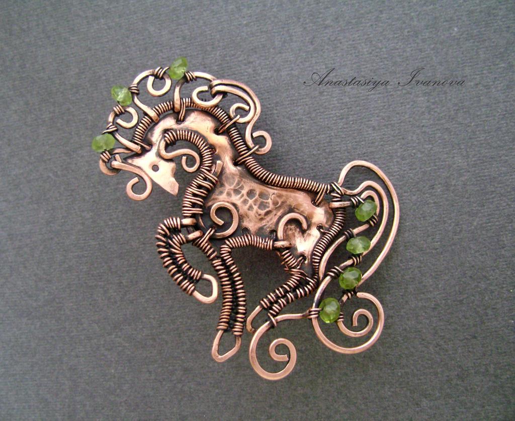 brooch horse2 by nastya-iv83