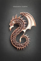 dragon pendant by nastya-iv83