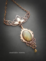 necklace with labradorite by nastya-iv83