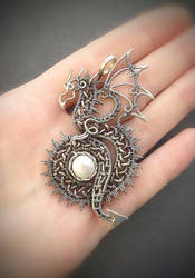 Pendant dragon by nastya-iv83