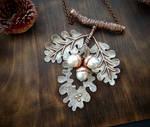 Oak necklace by nastya-iv83