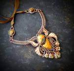 Necklace art nouveau