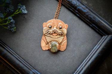 Otter pendant custom order