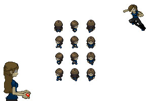 Nefe Pokemon Trainer Sprites by Nefepants