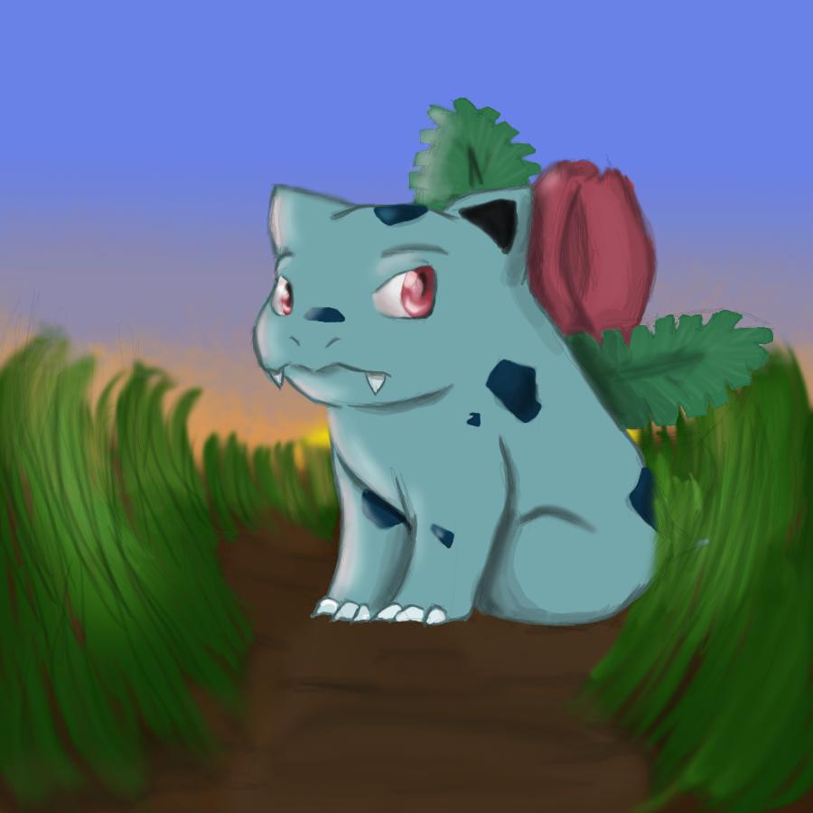 Pokemon No. 002: Ivysaur by Nefepants