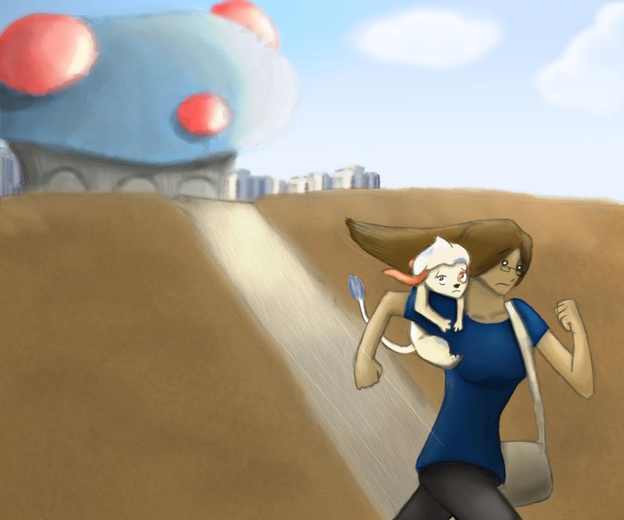 Start of The Race by Nefepants