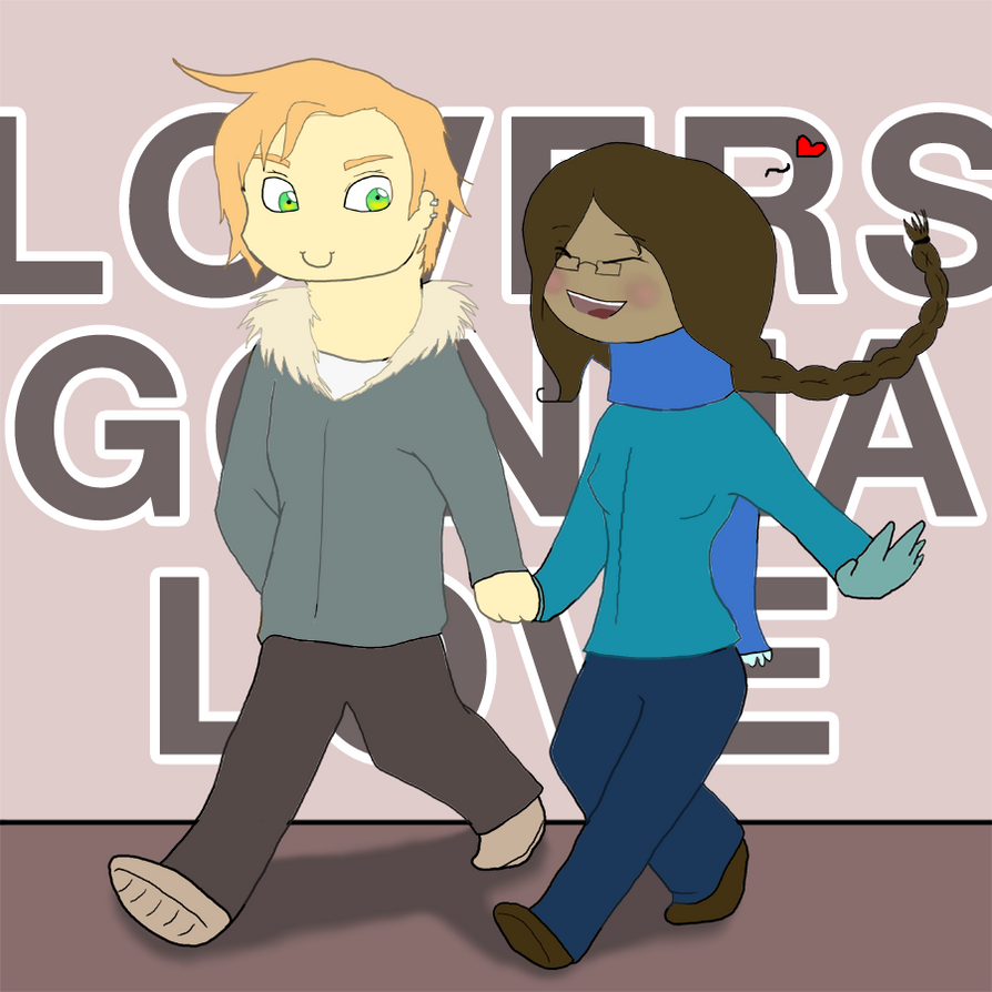 LOVERS GONNA LOVE by Nefepants