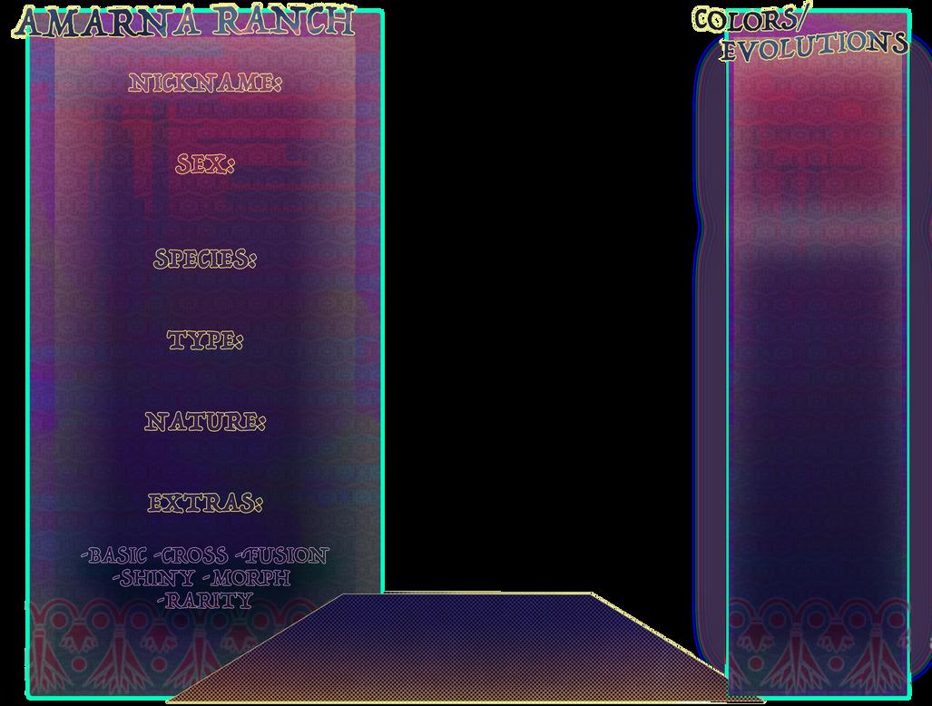 PKMNation: Amarna ref sheet REDUX by Nefepants