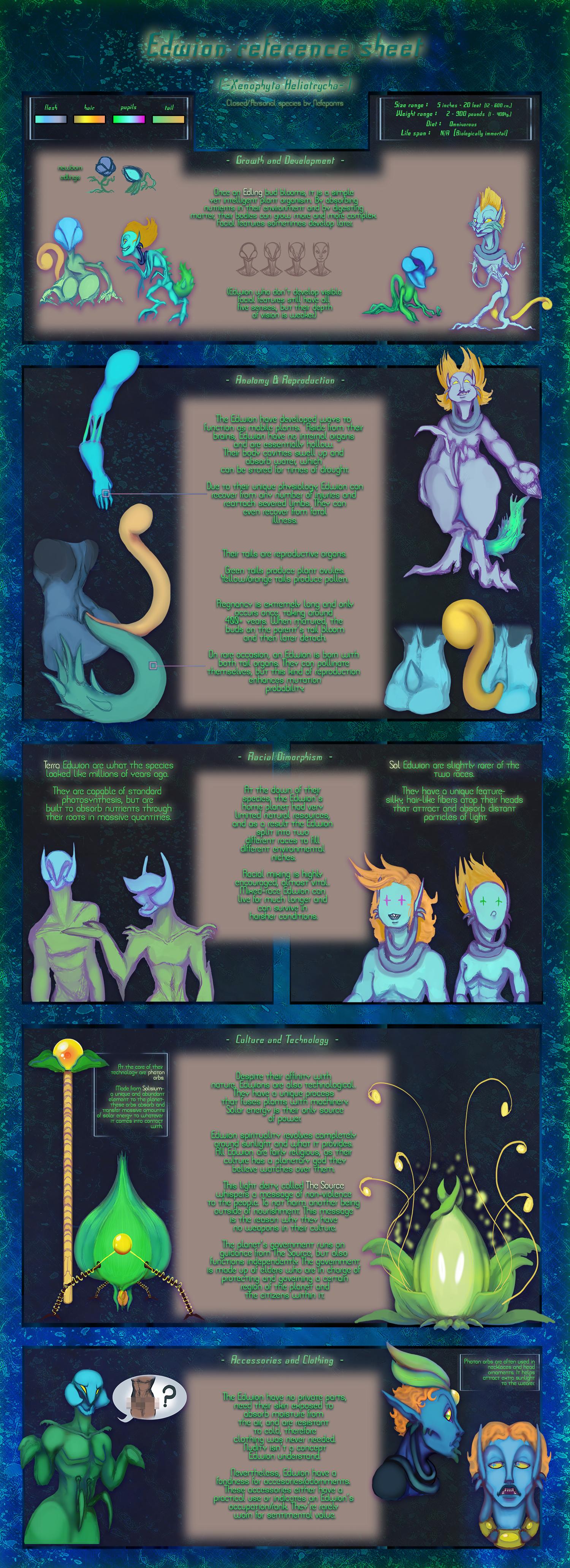 The Edwion (Ref sheet) by Nefepants