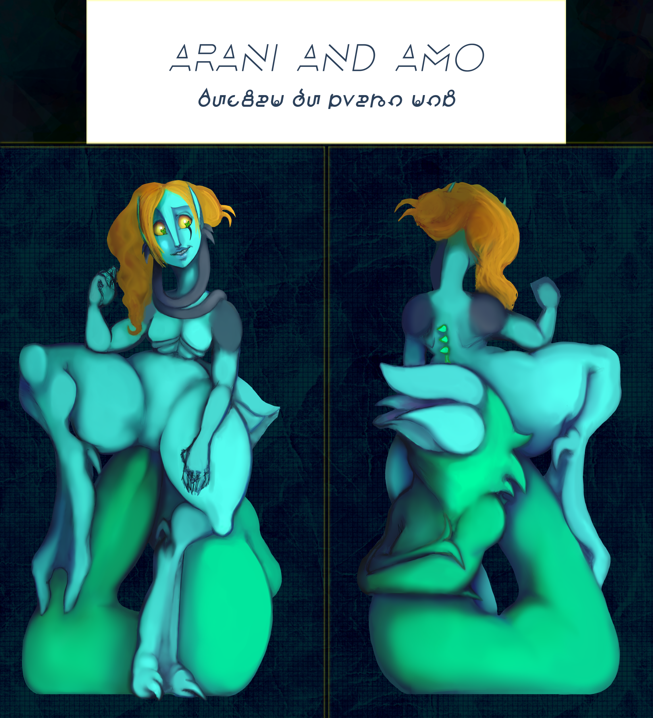 Dem alien freaks by Nefepants