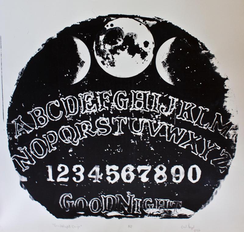 Ouija Planchette Art