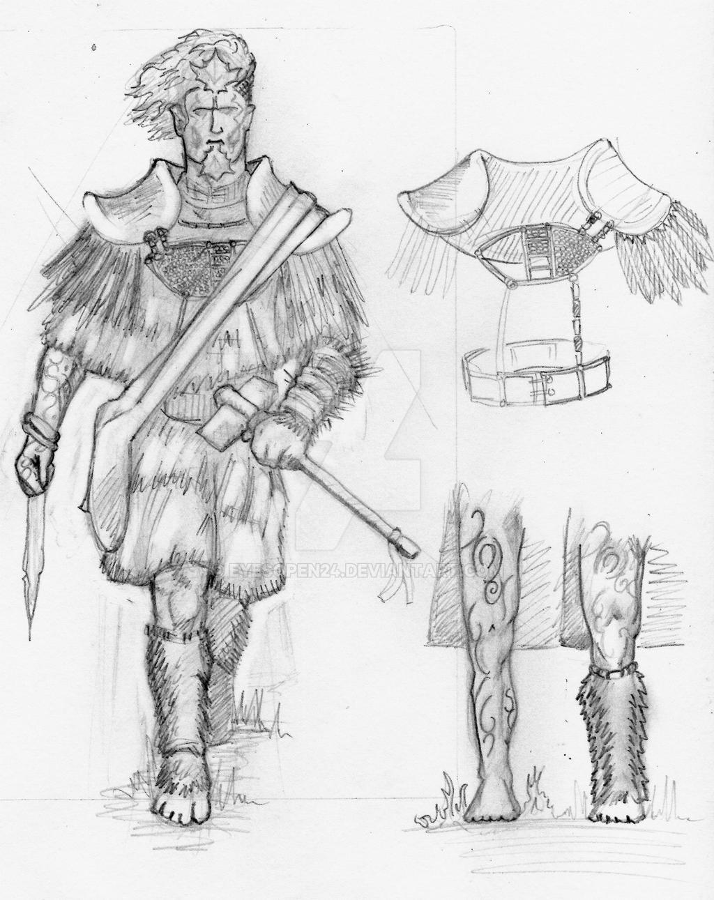 Elf Craftsman (Concept Art) by Eyesopen24