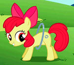 Applebloom hoop 2 by Iks83