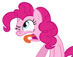 Pinkie Pie funny face by Iks83