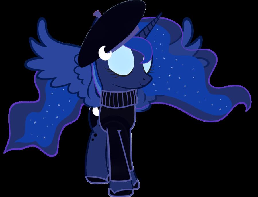 My Little Pony Princess Luna by twilightfan127 on DeviantArt