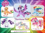 Rainbow Power Mane Six
