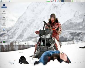 Desktop as of decembre 2009