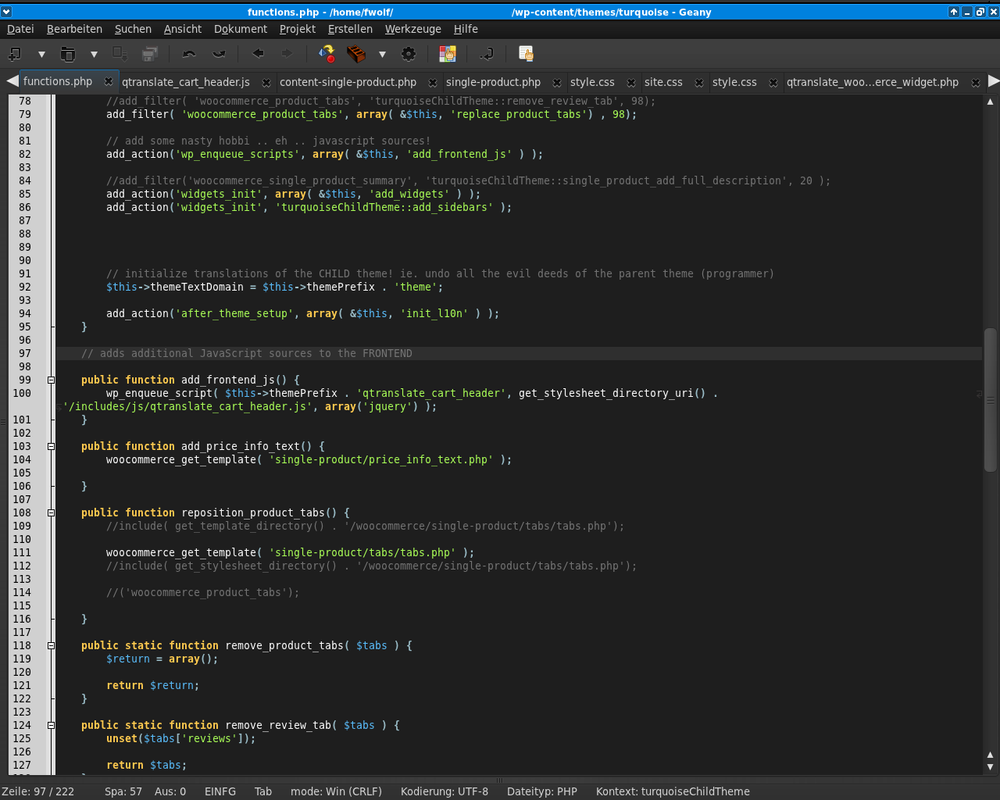 Current favorite source code editor by oxygenius