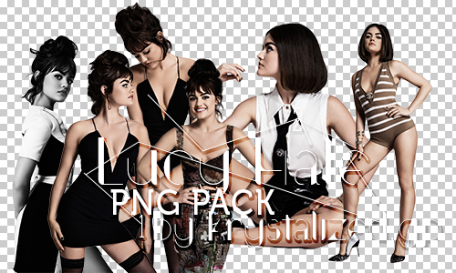 Lucy Hale PNG pack by itskrystalized