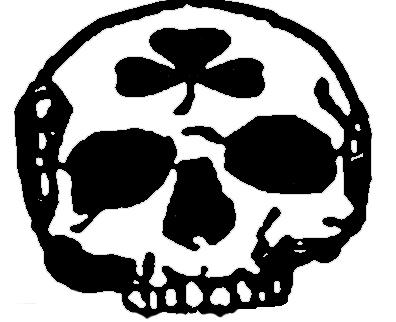 Skull Shamrock by Starvampire