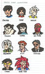 Jackie Chan Adventures Character Sketches