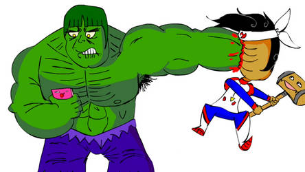 HOW TO SMASH THE HULK!?!?!?!? by thesmashdoctor