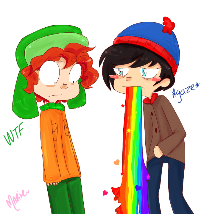 Gay Love Rainbow. by MimiMarieT