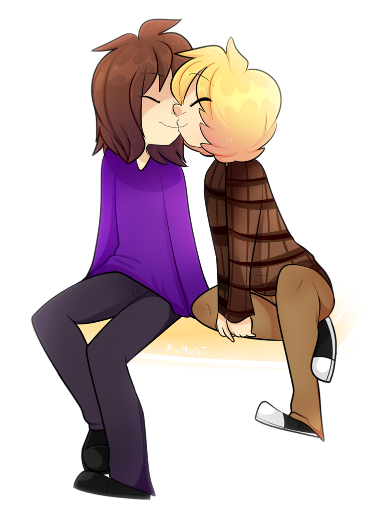 Smooching Bae by MimiMarieT