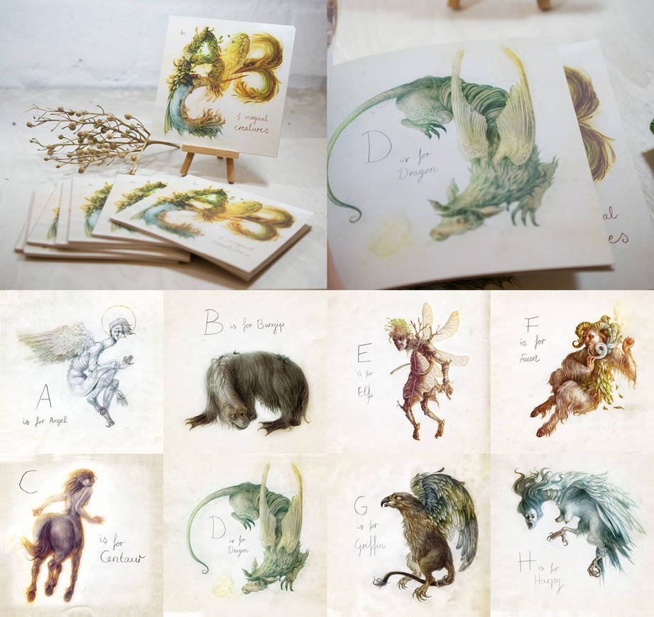 An ABC Of Magical Creatures