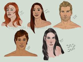 Silver Stone Staff Sketches by Hathien603