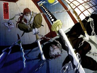 SDL duel 3: Hiroshi VS Jin by E-Nomad