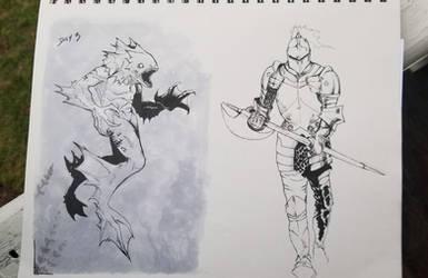 Late Sketchbook Stuff