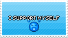 I support Myself! by SnowSniffer