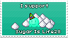 I support SugarIsLife28 by SnowSniffer