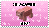 Inlove With Pigs Stamp by SnowSniffer