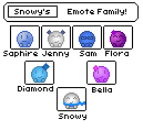 Snowy's Family Tree by SnowSniffer
