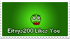 Eitvys200 likes you by SnowSniffer
