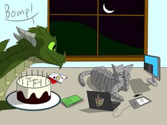 Happy Birthday, Neko! by RobinHoude