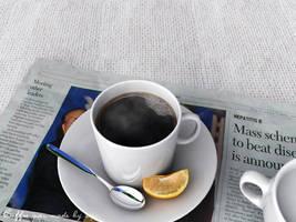 Coffee or Milk? by xipx