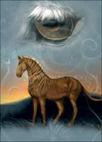 Quagga Card by howlinghorse