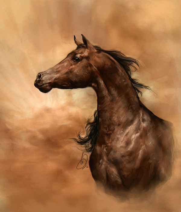 Arabian Legacy by howlinghorse